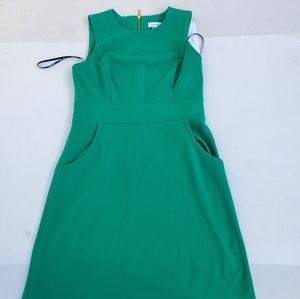 Beautiful womens green Calvin Klein dress size 10
